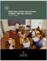 Improving literacy instruction in middle and high schools: A guide for principals Artwork